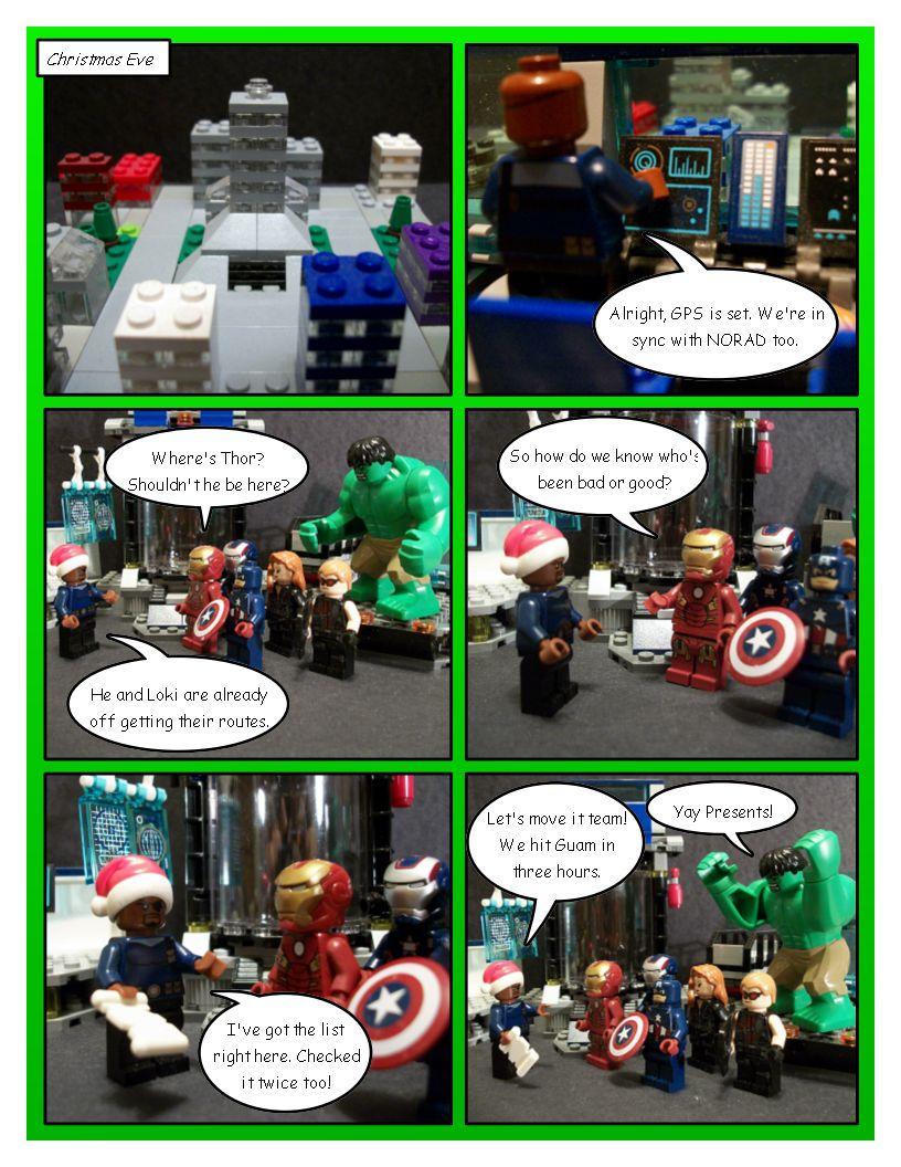 Avengers' Christmas - Part 7